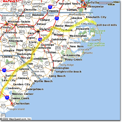 Pics Photos  North Carolina Beaches Map Use The North