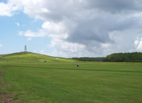 Visit the Wright Brothers Monument in Kill Devil Hills and relive that historic first flight