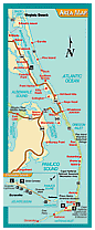 Click here to get a great map of the Outer Banks from Corolla to Hatteras and Ocracoke